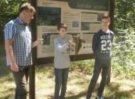Povratak mladih sova ušara u prirodu na Sovskom jezeru