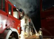 Požar na ugostiteljskom objektu Barun Trenk