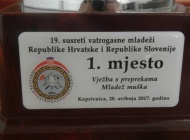 Vatrogasna mladež DVD Požega prvak međudržavnog natjecanja