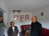 Biskup posjetio pleterničku obitelj Kordić čiju je kuću pogodio grom