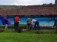 Izradili mural pastoralne scene Doručak na travi