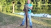 Na ribnjaku u Eminovcima upecao soma od 28,5 kilograma