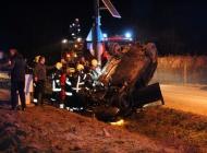 Teška prometna nesreća na izlazu iz Alilovaca