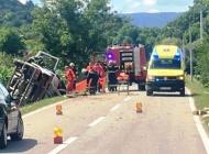 U slijetanju kamiona teško ozlijeđen 61-godišnji vozač, a u Požegi sinoć 44-godišnjak napuhao 2,59 promila