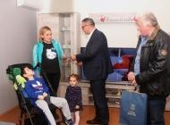 Župan Alojz Tomašević i ove godine pružio pomoć socijalno ugroženim obiteljima