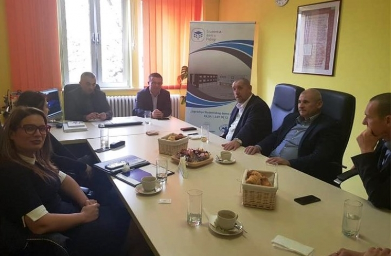 Delegacija Policijske akademije iz Zagreba u posjeti Veleučilištu u Požegi