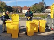 U gradu Požegi korisnicima stižu žuti spremnici za odvojeno prikupljanje plastike