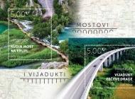 Romantični Kudin most i impresivni vijadukt Zečeve Drage na poštanskim markama