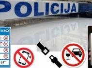 Vikend obilježilo čak 16 pijanih vozača koji su kažnjeni i sa 10 tisuća kuna, a 81 vozač kažnjen zbog brze vožnje