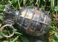 U potoku Paka na Čaglinskom području pronašao ručnu bombu