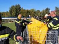 JVP grada Požege prezentirala postavljanje box barijera i brane vodom protiv vode u situaciji izlijevanja rijeke Orljave