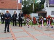 Polaganjem vijenaca obilježena 25. obljetnica VRO Oluja i Dan pobjede, Dan domovinske zahvalnosti i Dan hrvatskih branitelja
