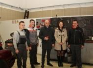 Gradonačelnik Puljašić obišao Poduzetnički inkubator i saznao dojmove 14-ero prvih korisnika