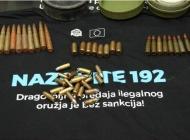 Građani dragovoljno predali automatsku pušku, ručnu bombu  i 2.135  komada streljiva