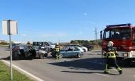 Teška prometna nesreća na raskrižju Osječke i Šijačke s više povrijeđenih osoba