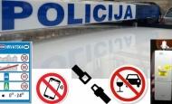 Pojačane mjere kontrole u prometu za vikend utvrdile ukupno 67 prekršaja a za najveći kazna od 10 tisuća kuna