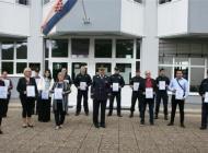 Obilježen Dan policije u Požegi zbog epidemije kraćim programom